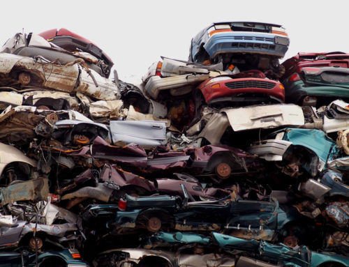 What happens to scrap cars?