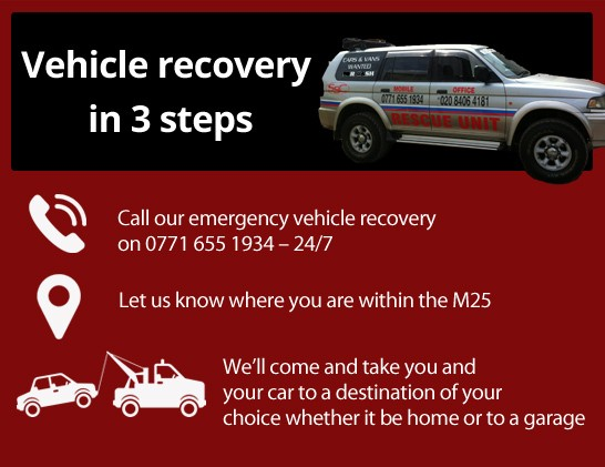 Vehicle Recovery in Croydon