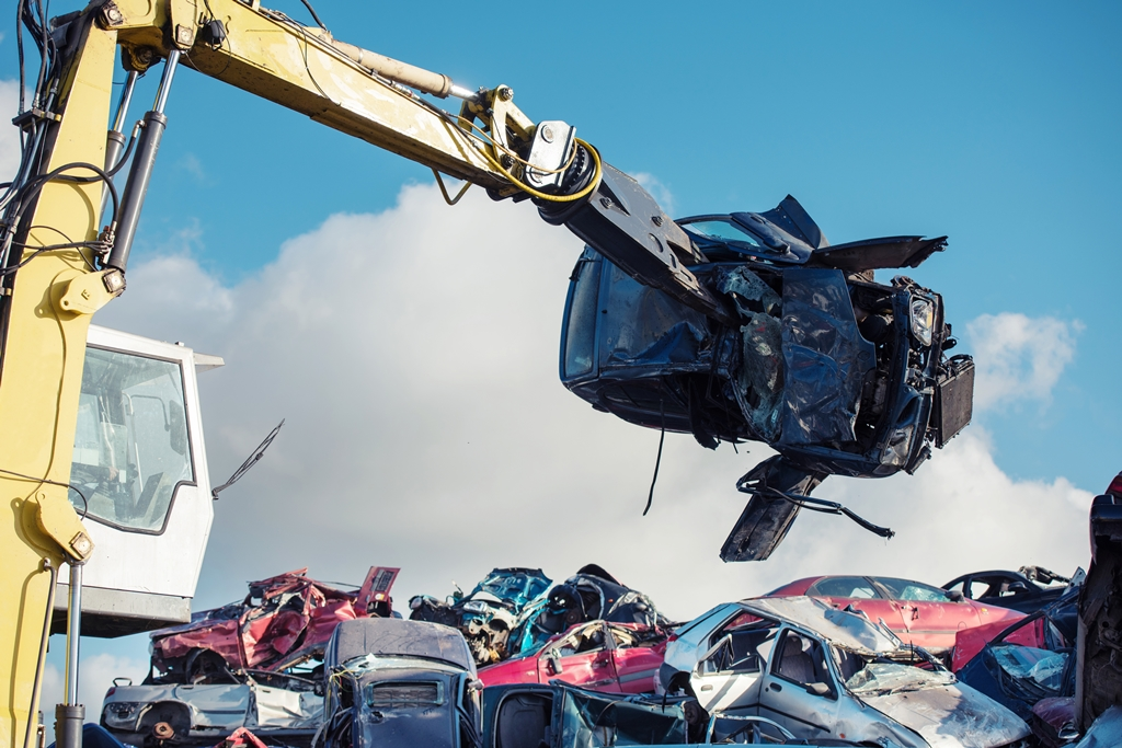Cash for your scrap car